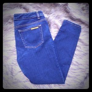 Michael Kors Jeans Skinny High Rise Dark Denim 6
